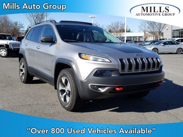 Pre-Owned 2017 Jeep Cherokee Trailhawk L Plus 4x4