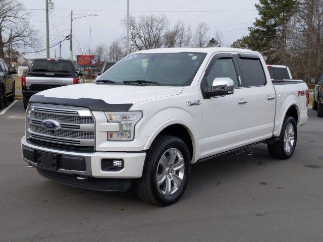 Pre-Owned 2016 Ford F-150 4WD SuperCrew 145 Platinum
