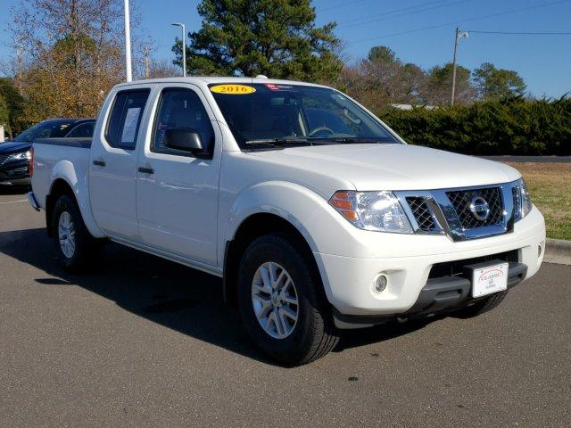 Pre-Owned 2016 Nissan Frontier 4WD Crew Cab SWB Auto SV