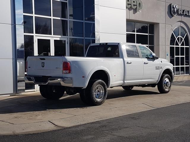 New 2018 RAM 3500 Laramie 4x4 Crew Cab 8' Box