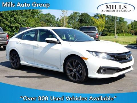 Pre-Owned 2019 Honda Civic Sport CVT FWD 4dr Car