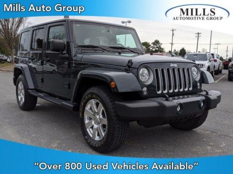 Certified Pre-Owned 2017 Jeep Wrangler Unlimited Sahara 4x4