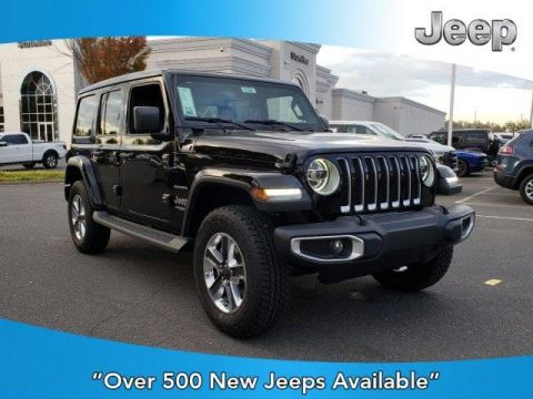 New 2020 JEEP Wrangler Sahara 4x4 With Navigation