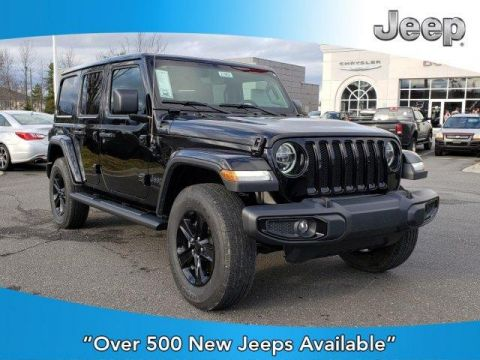 New 2020 JEEP Wrangler Sahara Altitude 4x4