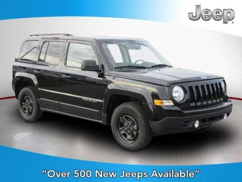 New 2016 JEEP Patriot FWD 4dr Sport