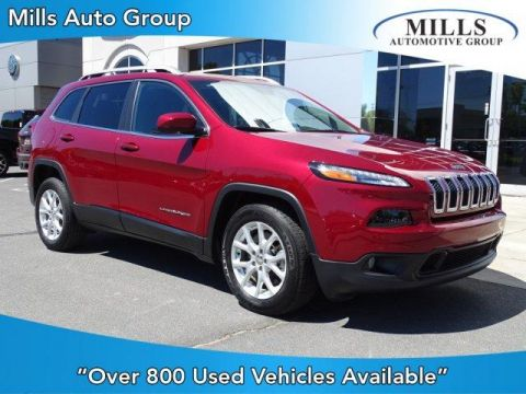 Pre-Owned 2017 Jeep Cherokee Latitude FWD FWD Sport Utility