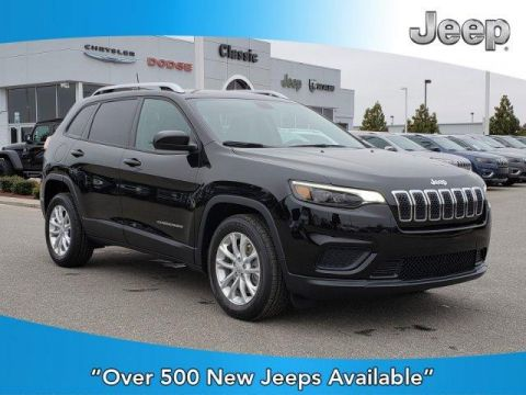 New 2020 JEEP Cherokee Latitude FWD FWD Sport Utility