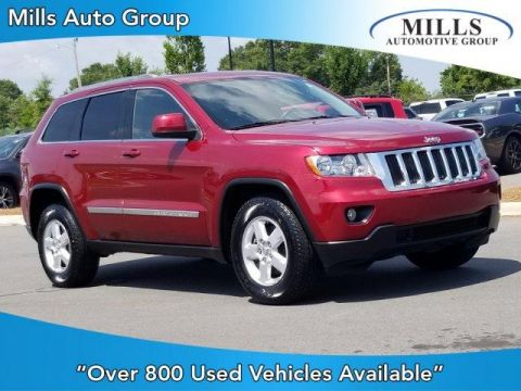 Pre-Owned 2012 Jeep Grand Cherokee RWD 4dr Laredo RWD Sport Utility