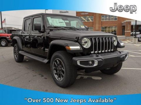 New 2020 JEEP Gladiator Overland 4x4 With Navigation