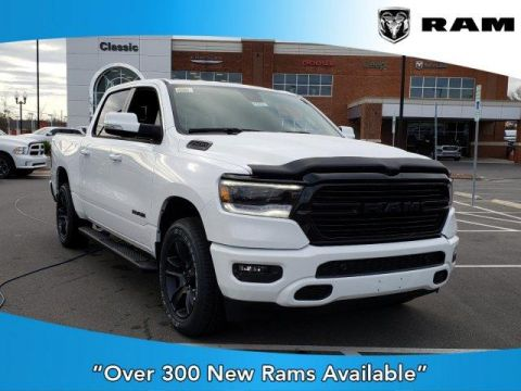 New 2020 RAM 1500 Big Horn 4x2 Crew Cab 5'7 Box With Navigation