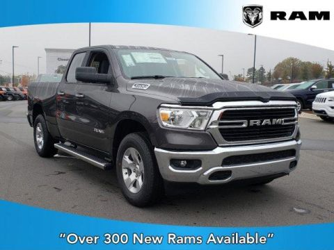 New 2020 RAM 1500 Big Horn 4x4 Quad Cab 6'4 Box 4x4 Quad Cab