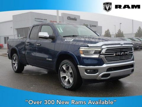 New 2020 RAM 1500 Laramie 4x4 Quad Cab 6'4 Box