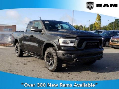 2020 RAM 1500 Rebel 4x4 Quad Cab 6'4 Box