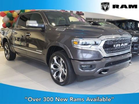 New 2019 RAM All-New 1500 Limited 4x4 Crew Cab 5'7 Box With Navigation