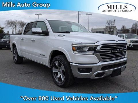 Certified Pre-Owned 2019 Ram 1500 Laramie 4x4 Crew Cab 5'7 Box With Navigation & 4WD