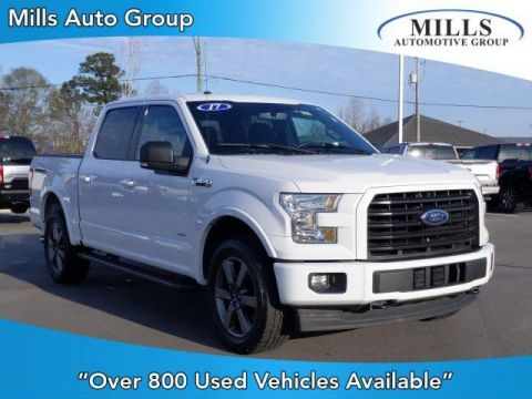 Pre-Owned 2017 Ford F-150 XLT 4WD SuperCrew 5.5' Box