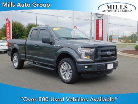 Pre-Owned 2016 Ford F-150 4WD SuperCab 145 XL 4WD