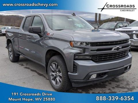 Pre-Owned 2019 Chevrolet Silverado 1500 4WD Double Cab 147 RST 4WD