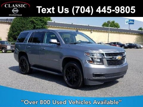 Pre-Owned 2018 Chevrolet Tahoe 4WD 4dr LT 4WD
