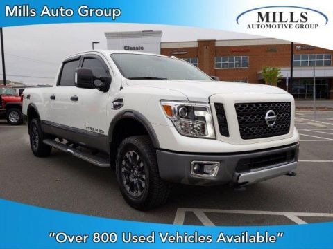 Pre-Owned 2017 Nissan Titan XD 4x4 Gas Crew Cab PRO-4X 4WD