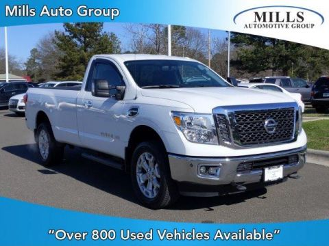 Pre-Owned 2017 Nissan Titan XD 4x4 Diesel Single Cab SV