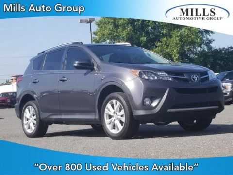 Pre-Owned 2015 Toyota RAV4 FWD 4dr Limited