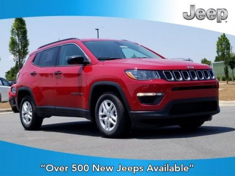 New 2019 JEEP Compass Sport FWD FWD Sport Utility