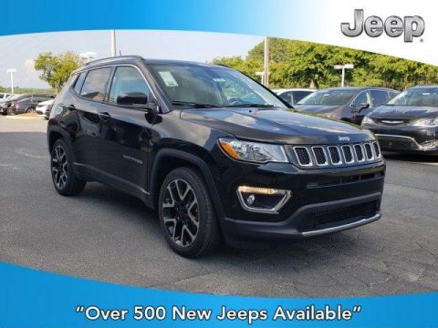 New 2019 JEEP Compass Limited FWD