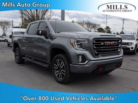 Pre-Owned 2019 GMC Sierra 1500 4WD Crew Cab 147 AT4 4WD