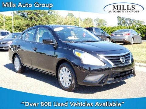 Pre-Owned 2018 Nissan Versa S Plus CVT