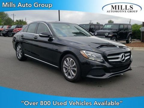 Pre-Owned 2015 Mercedes-Benz C-Class 4dr Sdn C 300 RWD RWD 4dr Car