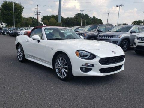 New 2018 FIAT 124 Spider Lusso Red Top Edition Convertible With Navigation