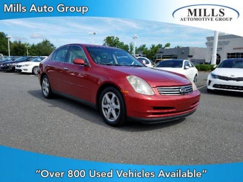 Pre-Owned 2004 INFINITI G35 4dr Sdn Auto RWD 4dr Car