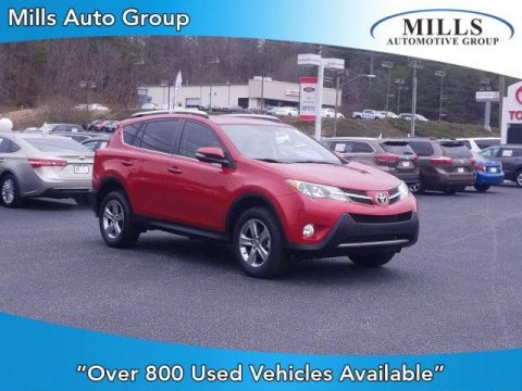 Pre-Owned 2015 Toyota RAV4 FWD 4dr XLE