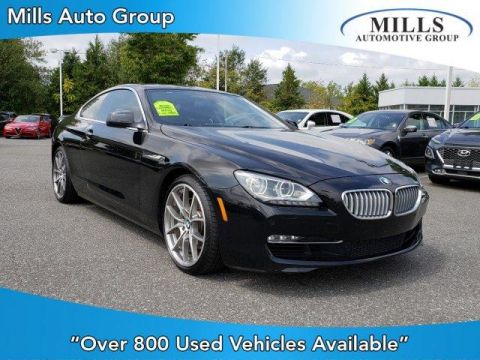 2012 BMW 6 Series 2dr Cpe 650i