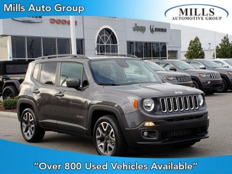 Certified Pre-Owned 2018 Jeep Renegade Latitude FWD FWD Sport Utility